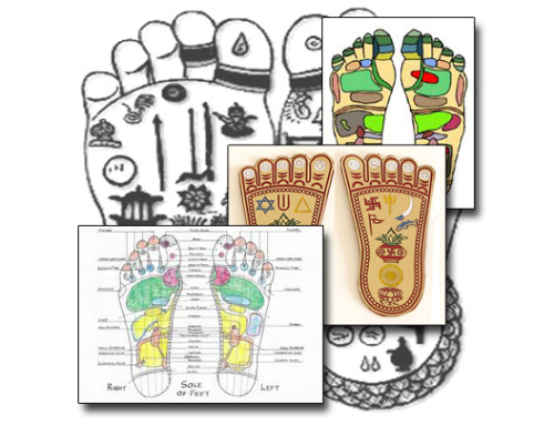 Why are there Different Reflexology Charts?