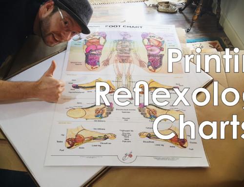 Reflexology Charts Update 2018 Part 2 Finishing