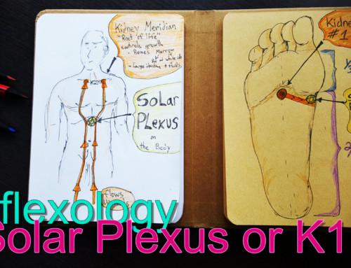 Solar Plexus or K1 point?