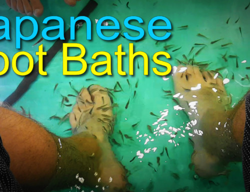 Exploring Japanese Foot Baths