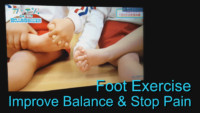 Reflexology foot exercise