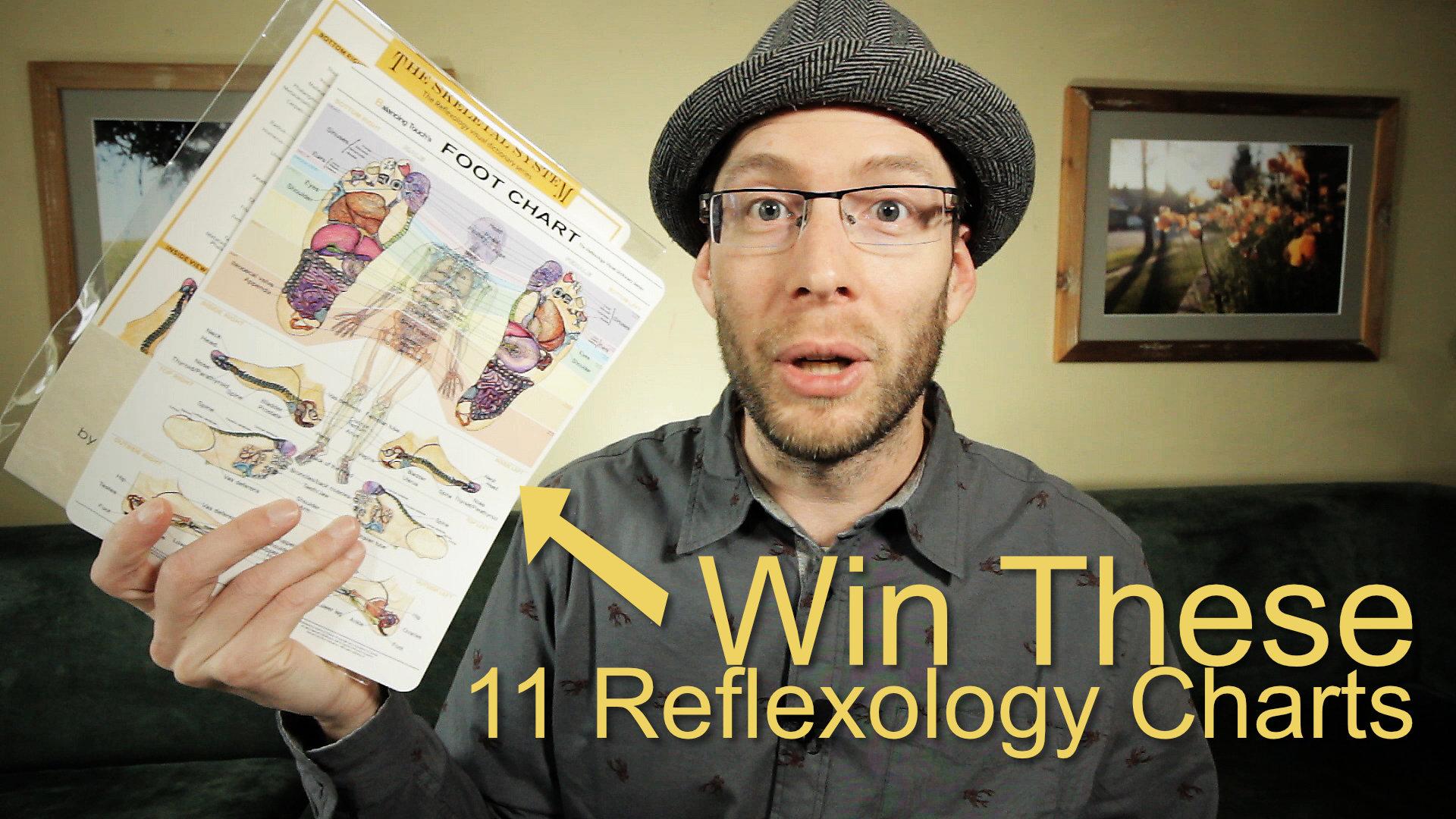 win some reflexology charts
