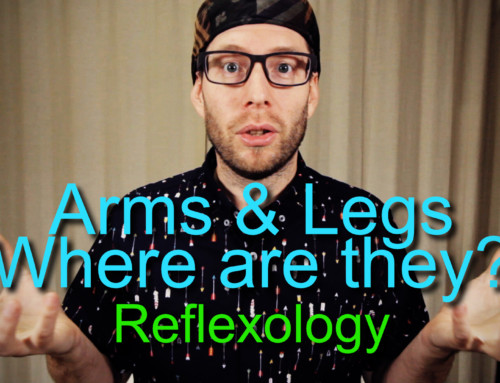 How Do the Arms and Legs Fit on the Feet in Reflexology?