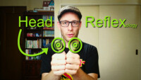 thumbnail about the head reflex in reflexology